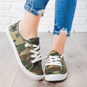 HARPER Comfort Insole Slip On Sneaker in Camo